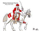Concept Art - Native American Hussar