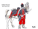 Concept Art - Indian Hussar