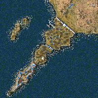 Cape Kaliakra Minimap
